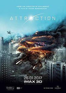 poster Prityazhenie - Attraction (2017)