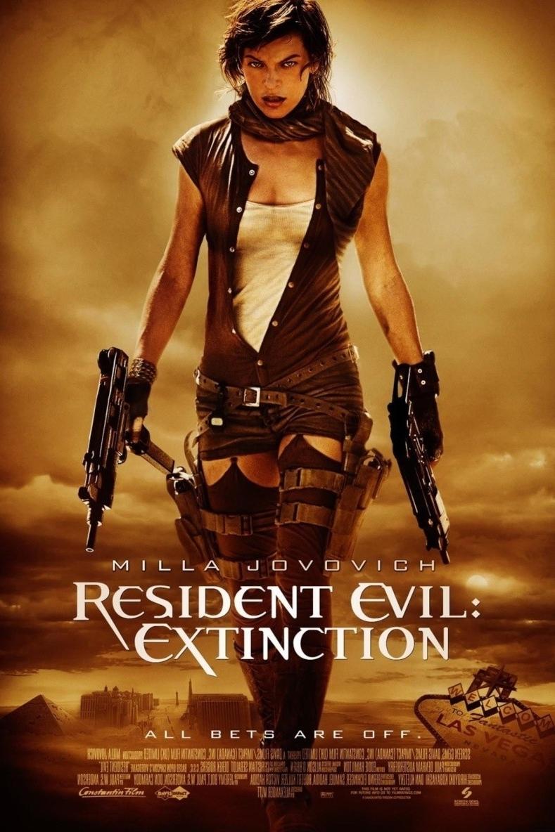 poster Resident Evil Extinction (2007)