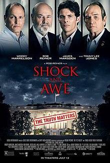 poster Shock and Awe (2017)