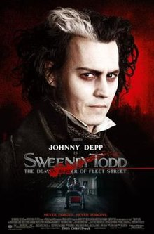 poster Sweeney Todd The Demon Barber of Fleet Street (2007)