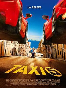 poster Taxi 5 (2018)