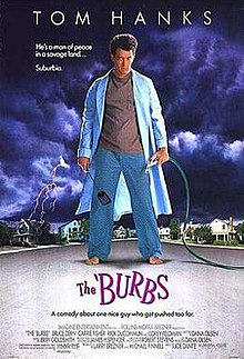 poster The 'Burbs (1989)