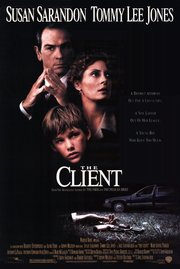 poster The Client (1994)