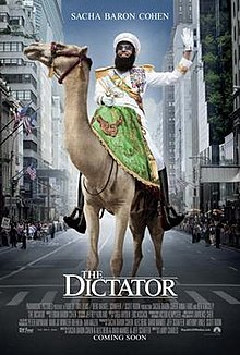 poster The Dictator (2012)
