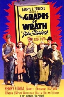 poster The Grapes of Wrath (1940)