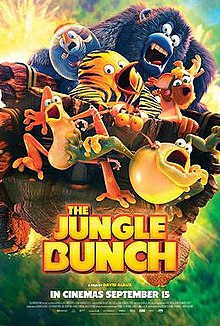 poster The Jungle Bunch (2017)
