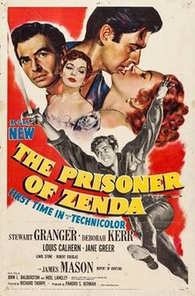 poster The Prisoner of Zenda (1952)