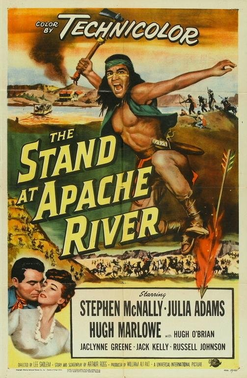 poster The Stand at Apache River (1953)