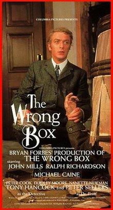 poster The Wrong Box (1966)