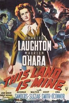 poster This Land Is Mine (1943)