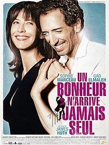 poster Un bonheur n'arrive jamais seul (2012)