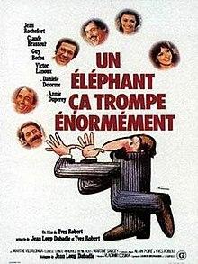 poster Un elephant ca trompe enormement (1976)