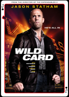 poster Wild Card (2015)