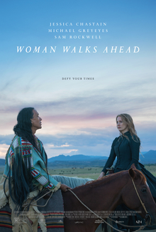 poster Woman Walks Ahead (2017)