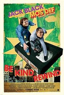 poster Be Kind Rewind (2008)
