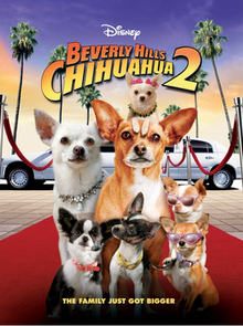poster Beverly Hills Chihuahua 2 (Video 2011)