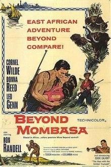poster Beyond Mombasa (1956)