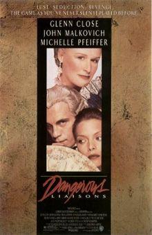 poster Dangerous Liaisons (1988)