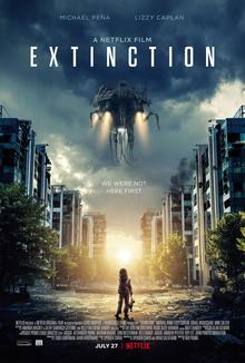 poster Extinction (2018)