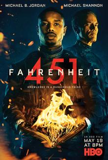 poster Fahrenheit 451 (2018)