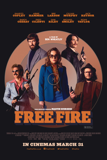 poster Free Fire (2016)