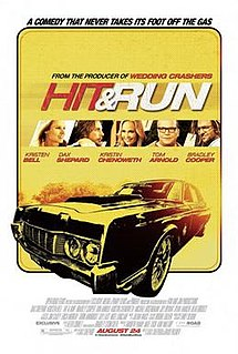 poster Hit and Run (2012)