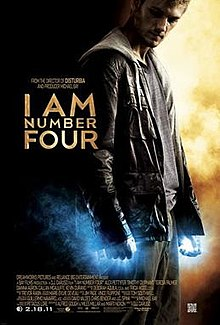 poster I Am Number Four (2011)