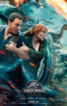 poster Jurassic World Fallen Kingdom (2018)