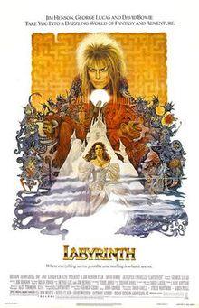 poster Labyrinth (1986)