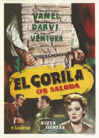 poster Le Gorille vous salue bien (1958)