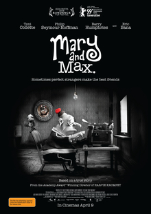 poster Mary and Max (2009)