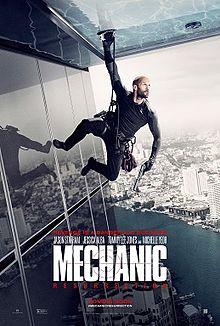 poster Mechanic Resurrection (2016)