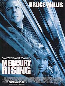 poster Mercury Rising (1998)