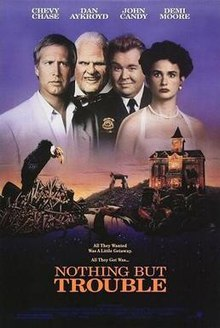 poster Nothing But Trouble (1991)