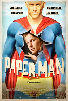 poster Paper Man (2009)