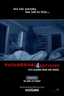 poster Paranormal Activity 4 (2012)