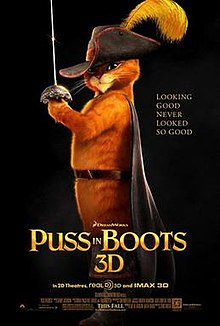 poster Puss in Boots (2011)