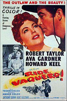 poster Ride, Vaquero! (1953)