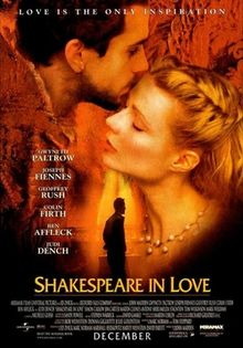 poster Shakespeare in Love (1998)