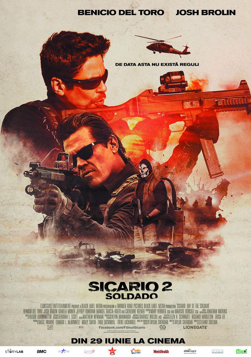 poster Sicario Day of the Soldado (2018)