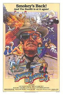 poster Smokey and the Bandit Part 3 (1983)