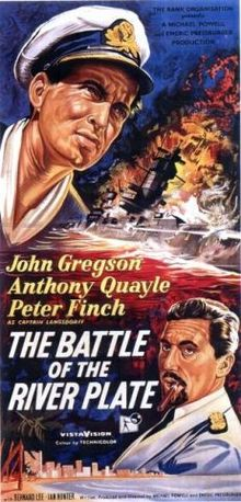 poster The Battle of the River Plate a.k.a. Pursuit of the Graf Spee (1956)