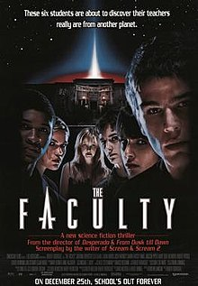 poster The Faculty (1998)