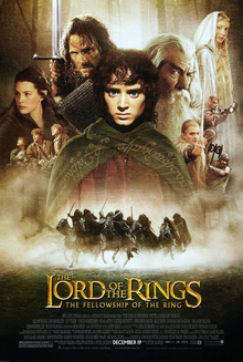 poster The Lord of the Rings The Fellowship of the Ring (2001)
