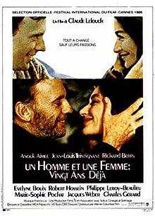 poster Un homme et une femme 20 ans deja (1986)
