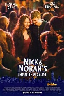 poster Nick and Norah's Infinite Playlist (2008)