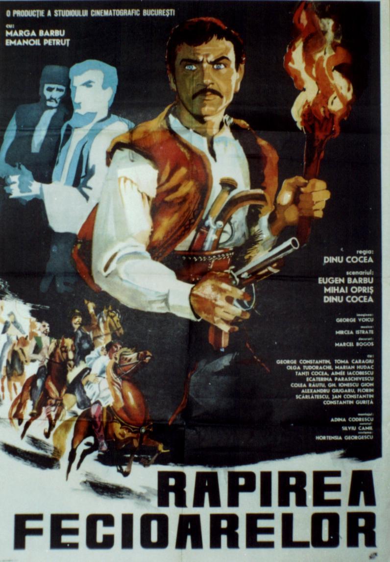 poster Răpirea Fecioarelor (1968)