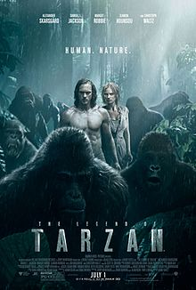 poster The Legend of Tarzan (2016)