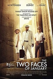 poster The Two Faces of January (2014)