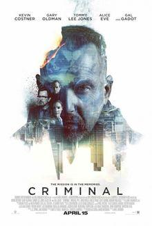 poster Criminal (2016)